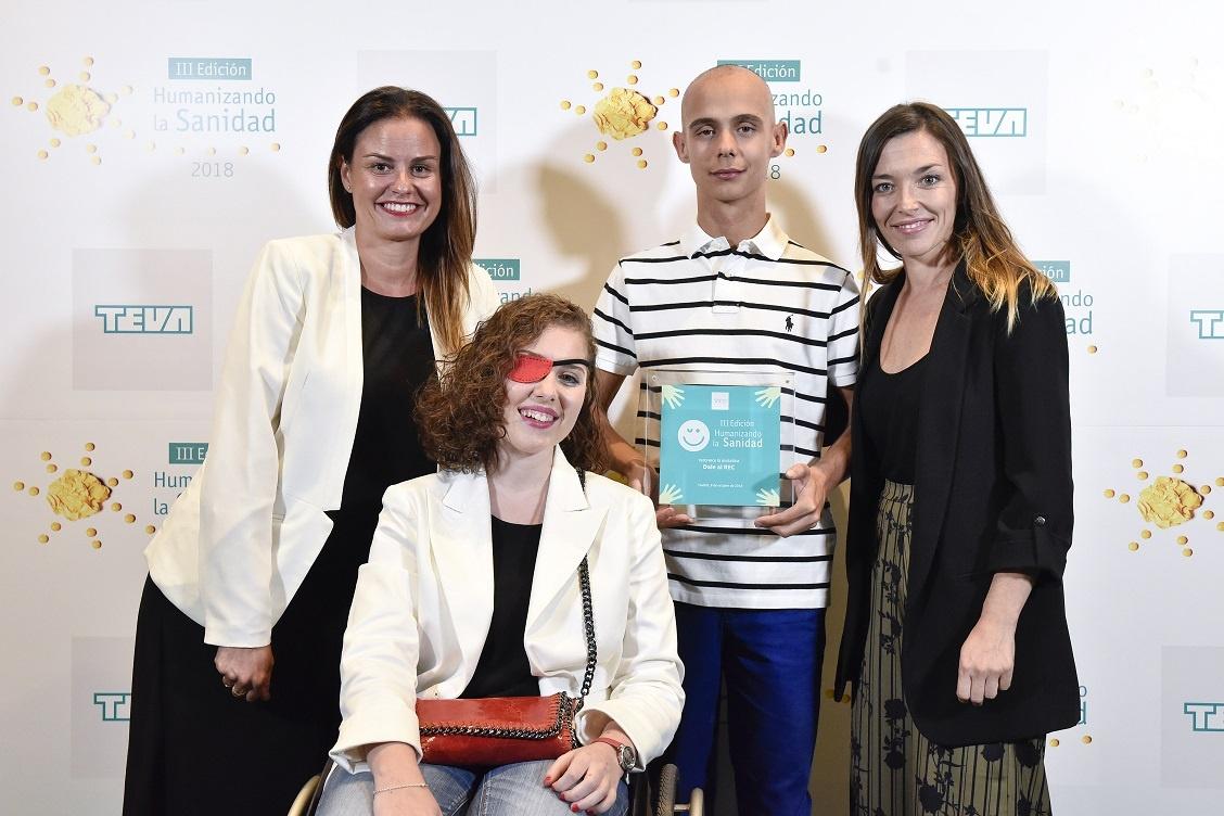 Nuestro programa Dale Al Rec es premiado en la III Edición de los premios 'Humanizando la Sanidad'