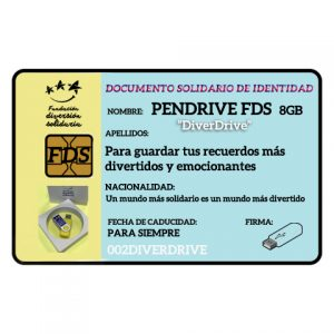 Pen Drive FDS 8 Gb
