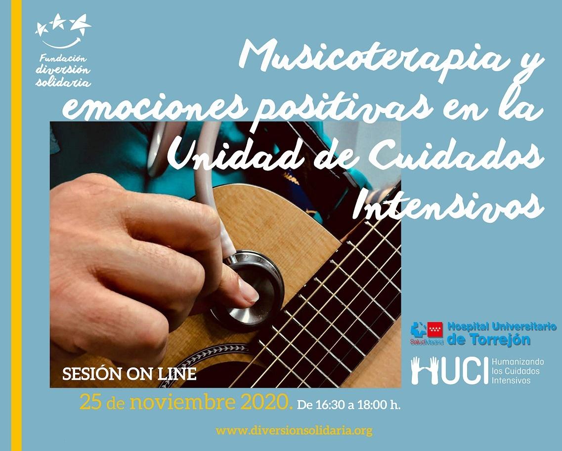 Encuentro Online de Musicoterapia y Emociones Positivas en la UCI